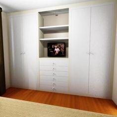 Proyecto dormitorio armario lacado a medida Decoration, Closets, Tall Cabinet Storage, Design, Furniture, Home Decor, Bedroom Cabinets, Yurts, Houses