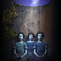 Maggie Taylor - Three Little Sisters, digital collage