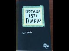 """Hola scraper@s! En el vídeo de hoy os traigo el libro """"Destroza este diario""""/ Wreck this journal de la autora Keri Smith. En este vídeo os enseño página por ..."""