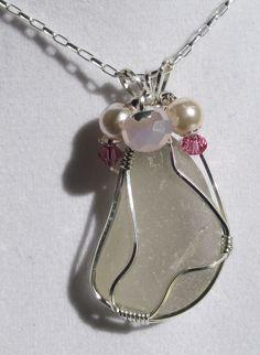 Sea Glass Necklace Sea Glass Jewelry  N31 by beachglassgonewild, $44.95