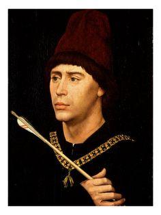 AntoineDeBourgogne Bastard of Burguandy by Roger Van der Weyden