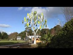 Artificial Wind Tree Uses Micro Turbine Leaves To Generate Electricity | Home Design, Garden & Architecture Blog Magazine