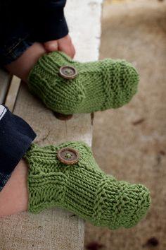 the Professor Bean socks knitting pattern