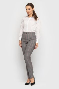 34b3fde0516 Gray Check Fitted Cocktail Jumpsuit