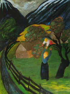 Der Apfelbaum, 1908, Marianne von Werefkin