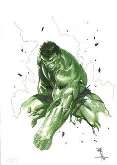 Hulk by Gabriele Dell'Otto Comic Art