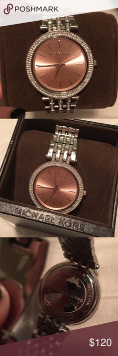 Michael Kors watch EEEEUC worn twice. Comes in box. Originally $250 Michael Kors Accessories Watches