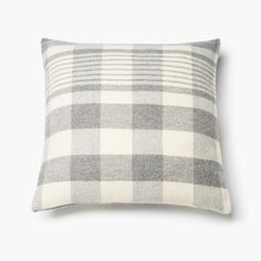 Faribault Plaid Wool Pillow Case