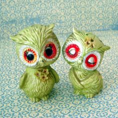 Vintage Owl Salt and Pepper Shakers Love these!