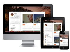 Pinotes - Responsive Personal Blogger Templates