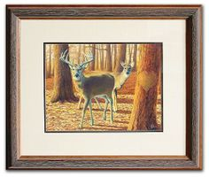 Own the original personal print by artist Scott Kennedy. This beautiful watercolor painting can be hand personalized by the artist for you. http://www.personal-prints.com/Personalized-Whitetails-3--Original-Watercolor-Painting_p_716.html#.U1g1A-ZdXzc $850.00