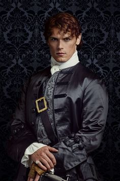 Outlander Season2 Jamie Fraser in Paris [costume designed by Terry Dresbach]