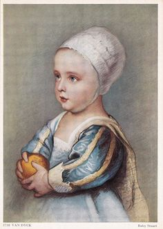 Vintage German Postcard Anthony van Dyck The by RussianSoulVintage