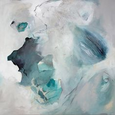 Hey, I found this really awesome Etsy listing at https://www.etsy.com/listing/189599379/grey-blue-turquoise-abstract-art-print