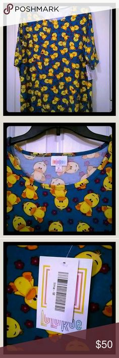Lularoe M Ducks Irma. It's nwt. Adorable ducks print tunic. ITEM SOLD on Facebook, posted on various buy, sell, trade pages. LuLaRoe Tops