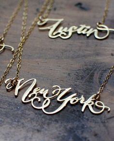 Two of my favorite things ~ my son's name and an amazing city!! (and no, my son's name is not New York) lol