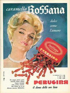 ✔ Caramelle Rossana Perugina