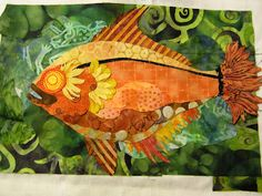 Quilt Whimsy: Go fish. . .