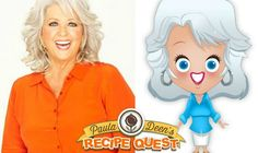 Paula Deen Has Released a Virtual Cooking Mobile Game