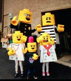 Lego people costume