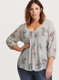 Plus Size Kimono - Plus Size Fashion for Women #plussize