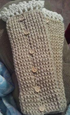 Calentones a crochet