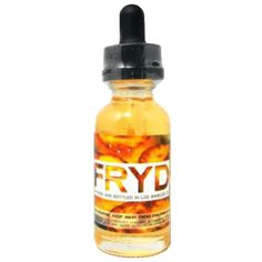 FRYD Premium E-Liquid Fried Banana 30ml - Deep fried golden banana slices with butterscotch. Sweet banana, buttery cream and crunchy graham cracker notes.80% VGShips from Liquid Guys Distribution - California