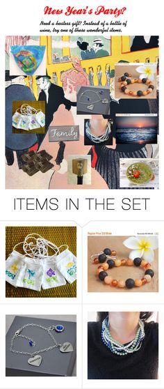 """""""New Year's Party?"""" by claudeswoodcarving ❤ liked on Polyvore featuring art, vintage, integrityTT and EtsySpecialT"""