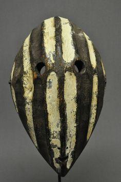 from the Lega people, DR Congo Arte Tribal, Tribal Art, African Masks, African Art, Art Ancien, African Sculptures, Art Premier, Head Mask, Art Sculpture