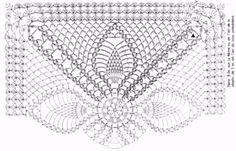 Crochet Pattern of Square Doily