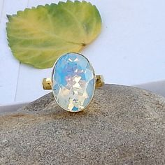 Oval Cut Blue Fire Opal 925 Silver Yellow Gold by Subhamjewels