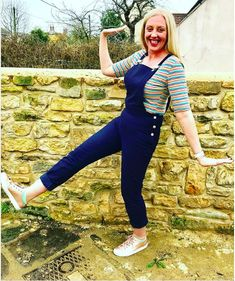 Nikki's Mila Dungarees - Sewing pattern by Tilly and the Buttons