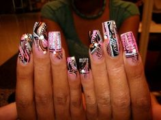 Crazy nail designs cute cool crazy nail art pinterest crazy crazy nail art for more stuff visit httpnaildesignsidea prinsesfo Gallery