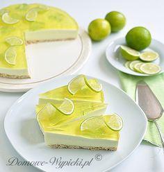Sernik limonkowy na zimno