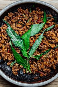 Kiln's ferocious pork larb recipe includes a homemade chilli powder, hot mint and lime for an amazingly hot and aromatic finish.