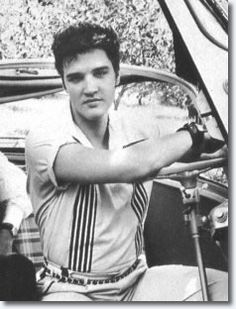 3- Elvis Presley in the BMW Isett