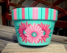 40 DIY Decorated Flower Pots and