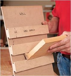 How to Route Modular Wall Shelf System Moldings - Free Woodworking Plans. www.Rockler.com