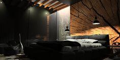 dark interior idea http://www.oesarchitekci.com/