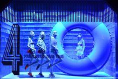 """GALERIES LAFAYETTE, Paris, France, """"#PARISWELOVEYOU"""", pinned by Ton van der Veer Visual Merchandising Displays, Visual Display, Lafayette Paris, Fashion Displays, Store Windows, Window Styles, Shop Window Displays, Window Design, Retail Design"""