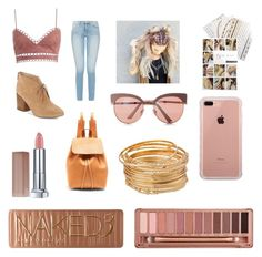 """""""Outdoor Concert 💛"""" by bubbleberrie on Polyvore featuring Zimmermann, French Connection, Express, Mansur Gavriel, Maybelline, Flash Tattoos, Belkin, Urban Decay, 60secondstyle and outdoorconcerts"""