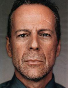 Bruce Willis. Another striking portrait...