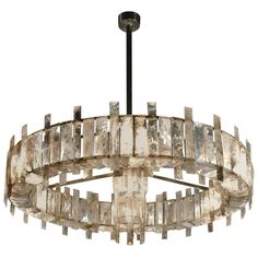 """Mathieu Lustrerie, """"Saturne"""" Chandelier 