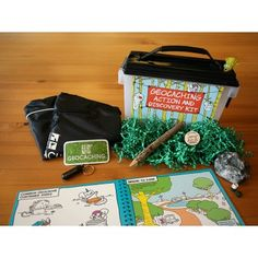 Give a World of Adventure - With the Geocaching Action and Discovery kit, you can inspire the spirit of adventure in kids. The Explorer's Guide to Geocaching Activity Book—exclusive to the kit—guides them through the adventure of geocaching with fun characters, over a dozen activities and more. They'll have everything they need to find their first few geocaches* as well as hide one of their own. Give this kit and unlock millions of adventures around the world.