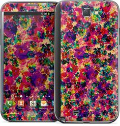 Floral Explosion Samsung by Amy Sia | Nuvango