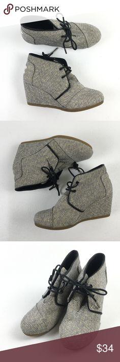 5e2dd08061f Toms Glitter Desert Wedges X9915754 Toms Womens Glitter Cute Booties Boots  Shoes Desert Wedges 5 X9915754
