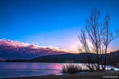 Il lago di Comabbio in inverno