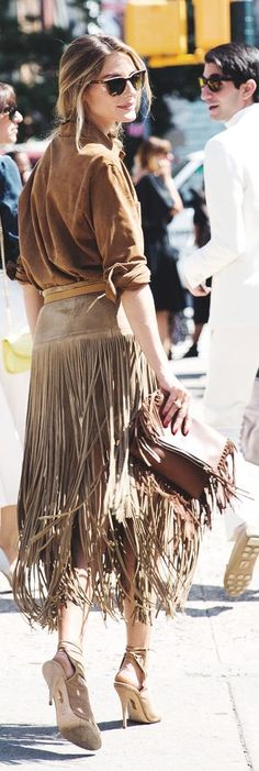 Chic In The City●Camel Buck-skin Button Down● ♔LadyLuxury♔