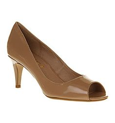 Office FRENCH FONDANT NUDE Shoes - Womens Mid Heels Shoes - Office Shoes