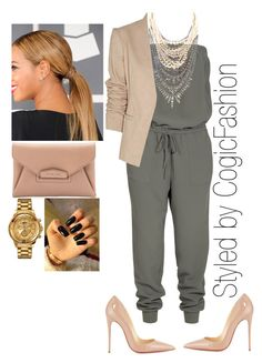 Hanging with the Homies!!! by cogic-fashion on Polyvore featuring polyvore fashion style Theory Joie Christian Louboutin Givenchy Tom Binns Versus clothing